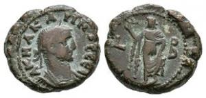 Roman Provincial Coins - Carinus - Alexandria - AE Tetradrachm