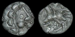 British Celtic Dobunni - Head/Horse - Silver Unit