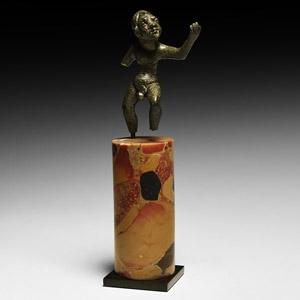 Hellenistic Dancing Figure