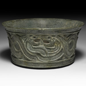 Bactrian Bowl with Snakes