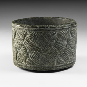 Western Asiatic Bowl with Geometric Design