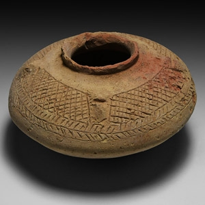 Mesopotamian Decorated Vessel