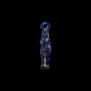 Egyptian Glass Harpocrates Pendant