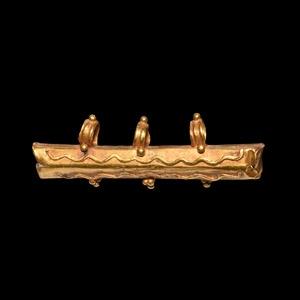 Late Roman Gold Amulet Case Pendant