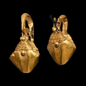 Parthian Gold Earring Pair