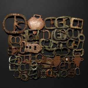 Tudor and Other Buckle Collection