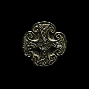 Early Christian Irish Cross Mount