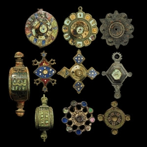 Enamelled Brooch Collection