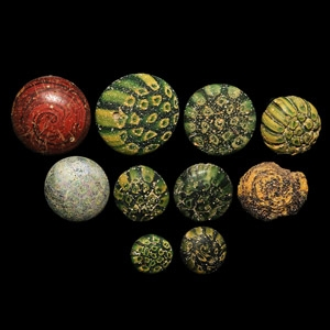 Graeco-Roman Glass Inlay Collection