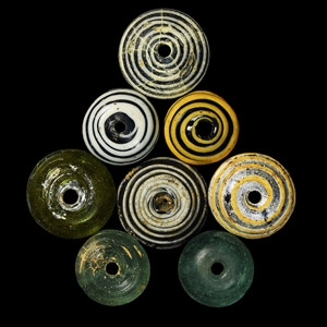 Glass Spindle Whorl Collection