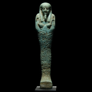 Hieroglyphic Shabti for Nes-Ptah