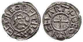 Anglo-Saxon Coins - Ecgberht of Wessex - Winchester / Beornheard - New Dies Monogram Penny