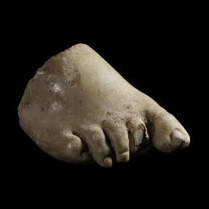 Marble Statue Foot