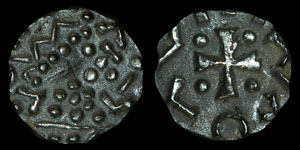 Anglo-Saxon Series D - Variant Sceatta