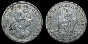 Bank of Ireland - 6 Shillings - Contemporary Counterfeit