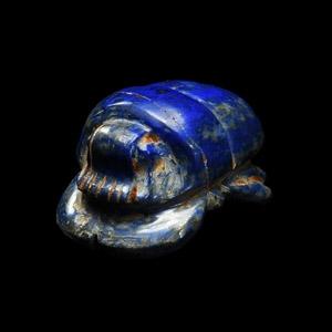 Lapis Lazuli Funerary Scarab