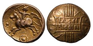 Celtic Iron Age Coins - Catuvellauni - Tasciovanus - Tascio Rigon Variant Gold Stater