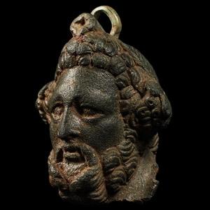 The Alvescot Roman Steelyard Weight with Head of Jupiter