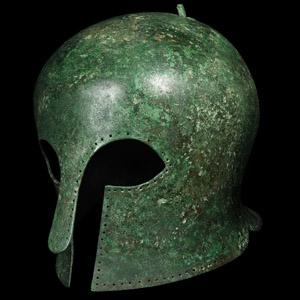 Corinthian Hoplite Helmet