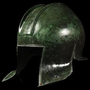 Battle-Speared Illyrian Helmet