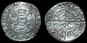 English Medieval - Edward III - Pre Treaty Series Gb - Groat - London