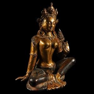 Gilt Arya Tara Figurine