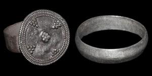 Byzantine Silver Rings