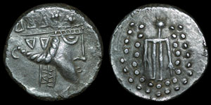 Celtic Imitation - Danubia - Thasos Herakles Tetradrachm