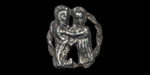 Medieval Iconographic Pilgrims Badge