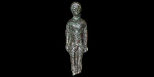 Celtic Bronze Votive Figure