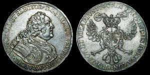 World German States - Saxony - Friedrich August 1740 - Thaler