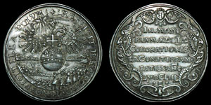 World German States - Regensberg - 1653 - Medallion