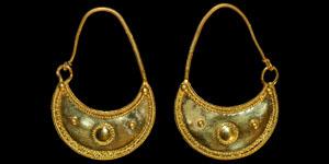 Pair of Thracian Gold Earrings