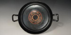 Southern Italian Painted Black Glazed Kylix