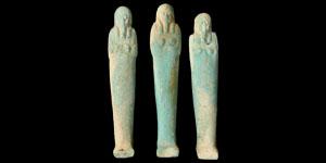 Egyptian 26th Dynasty Shabti Figurines