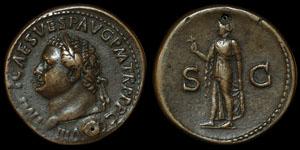 Roman Empire - Titus - Sestertius