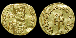 Byzantine Constans II - Constantinople - Semissis