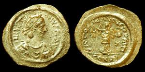 Byzantine Justin I - Constantinople - Tremissis