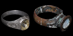 Stuart Silver and Bronze Rings