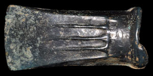 Bronze Age Bronze Decorated Socketted Axe