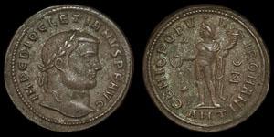 Roman Empire - Diocletian - Ae Follis