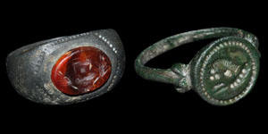 Roman Bronze Rings