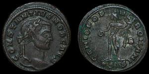 Roman Empire - Constantius I - AE Follis