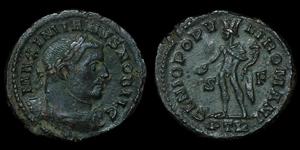 Roman Empire - Galerius Maximian - AE Follis