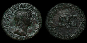 Roman Empire - Germanicus - AE As