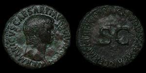 Roman Empire - Germanicus - AE As