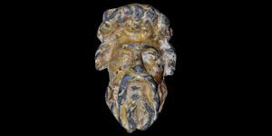 Medieval Gilt Head of Christ