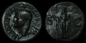 Roman Empire - Agrippa - AE As