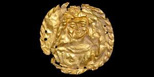 Roman Repoussé Gold Bracteate