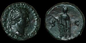 Roman Empire - Domitian - AE As